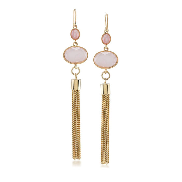 Carolee Caspian Sea Tassel Earings