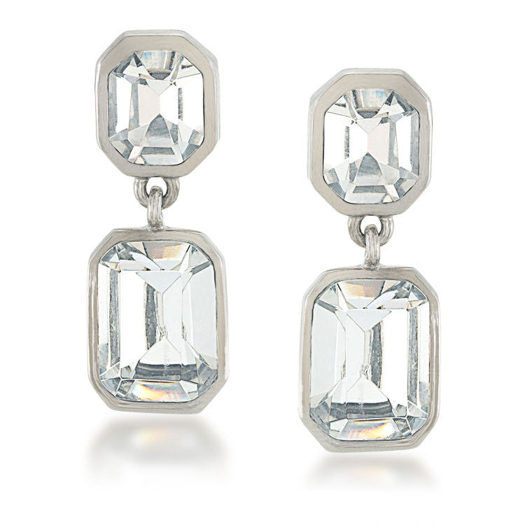 Carolee Double Crystal Drops