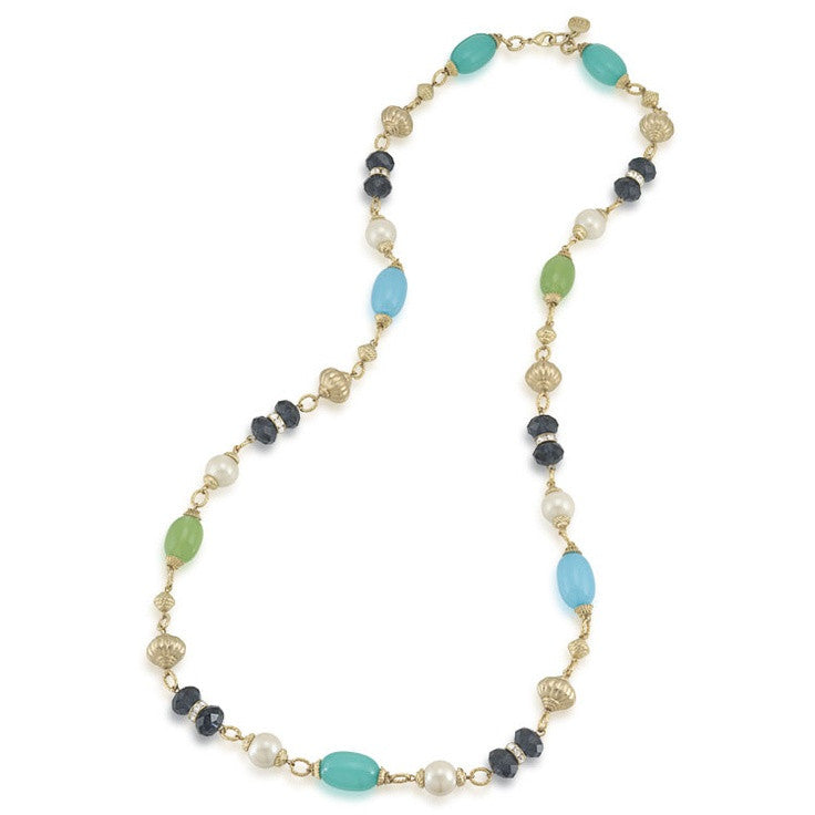 Carolee Lux Tranquil Rope Necklace