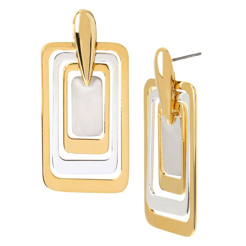 DIANE VON FURSTENBERG Madison Geometrical Earrings