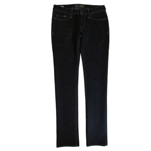 DL 1961 Premium Denim Kate Straight Jeans Front Folded