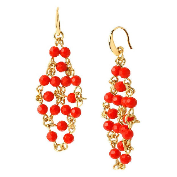 DIANE VON FURSTENBERG Honey earrings
