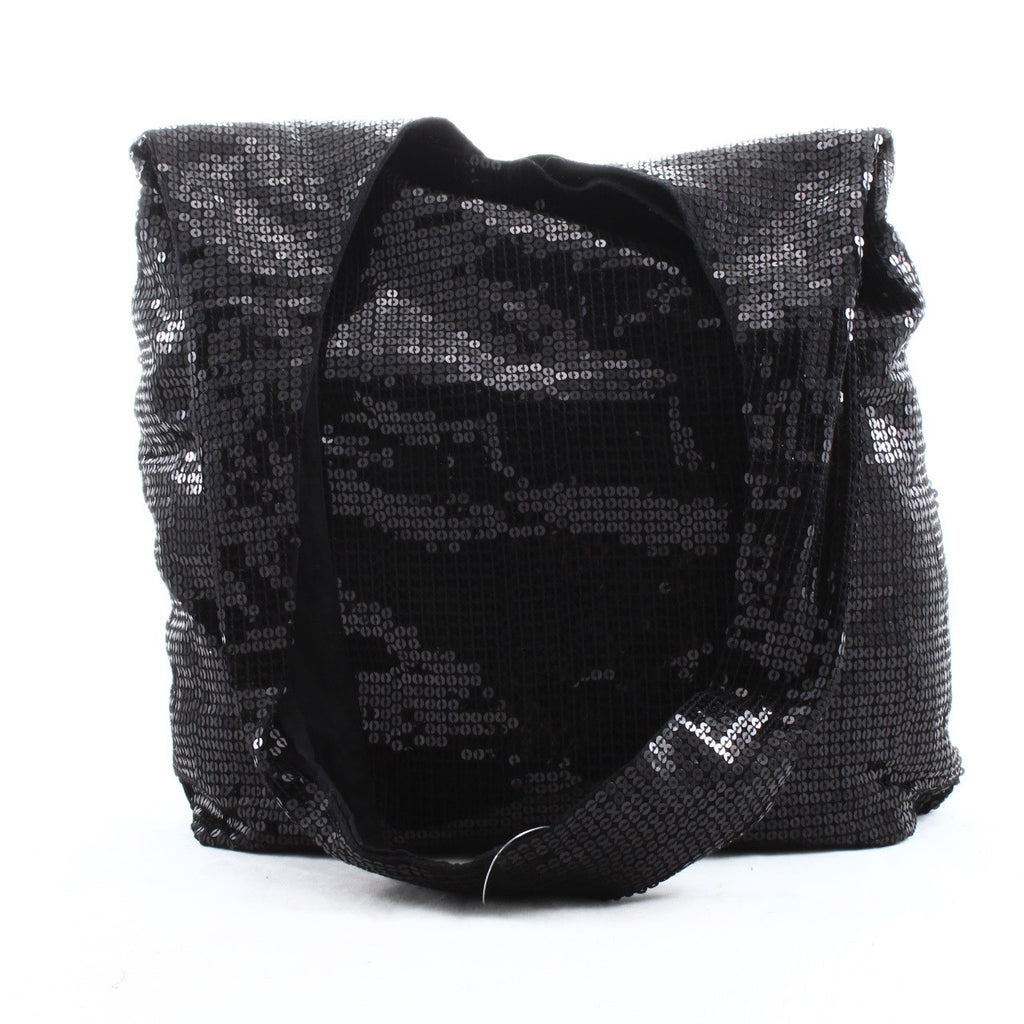 Denim & Supply Ralph Lauren Black Sequin Hobo Closeup