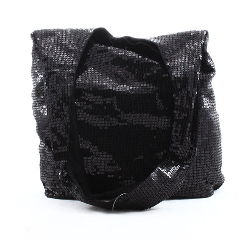 Denim & Supply Ralph Lauren Black Sequin Hobo