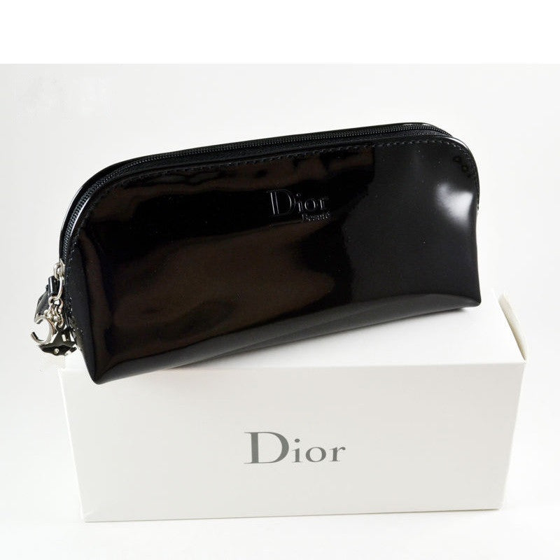 Dior Carryall Pouch with CD Logo Charm