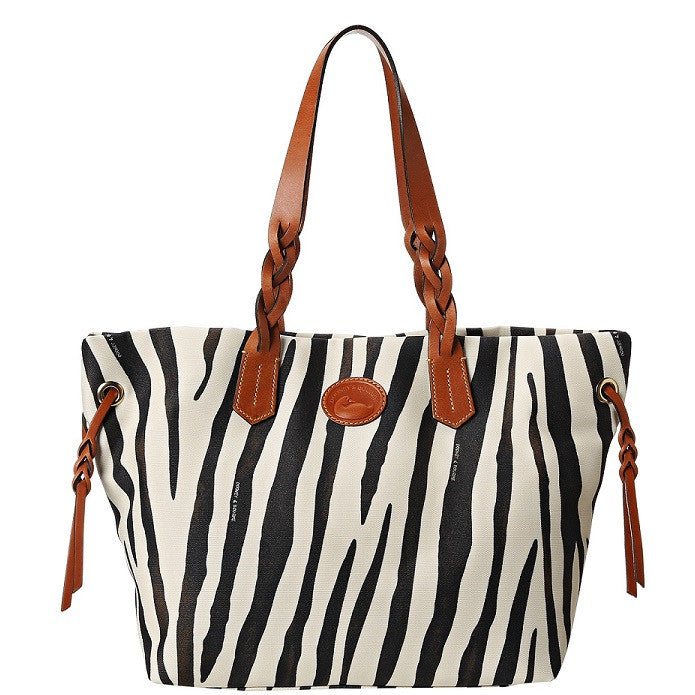 Dooney & Bourke Zebra Shopper