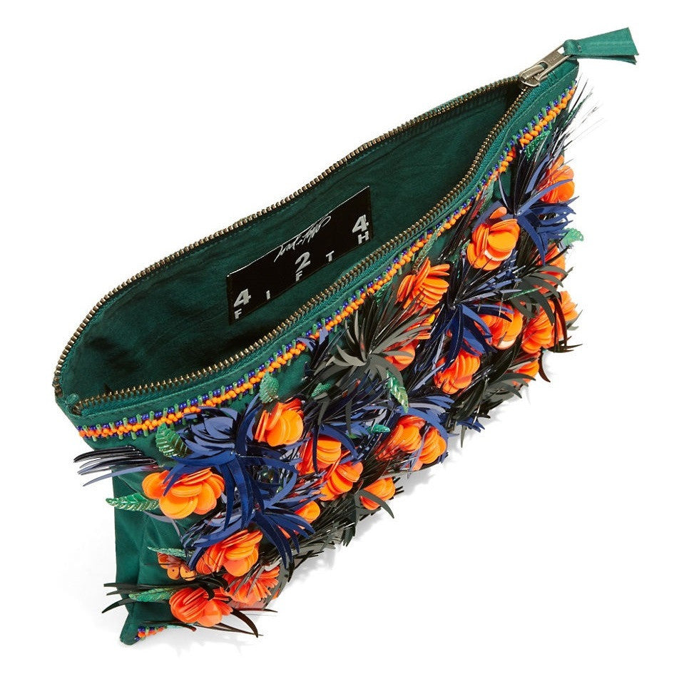 Embellished-Tropical-Cocktail-Clutch-Interior