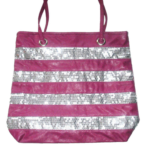 Fashion Bug Hot Pink Sequin Bag