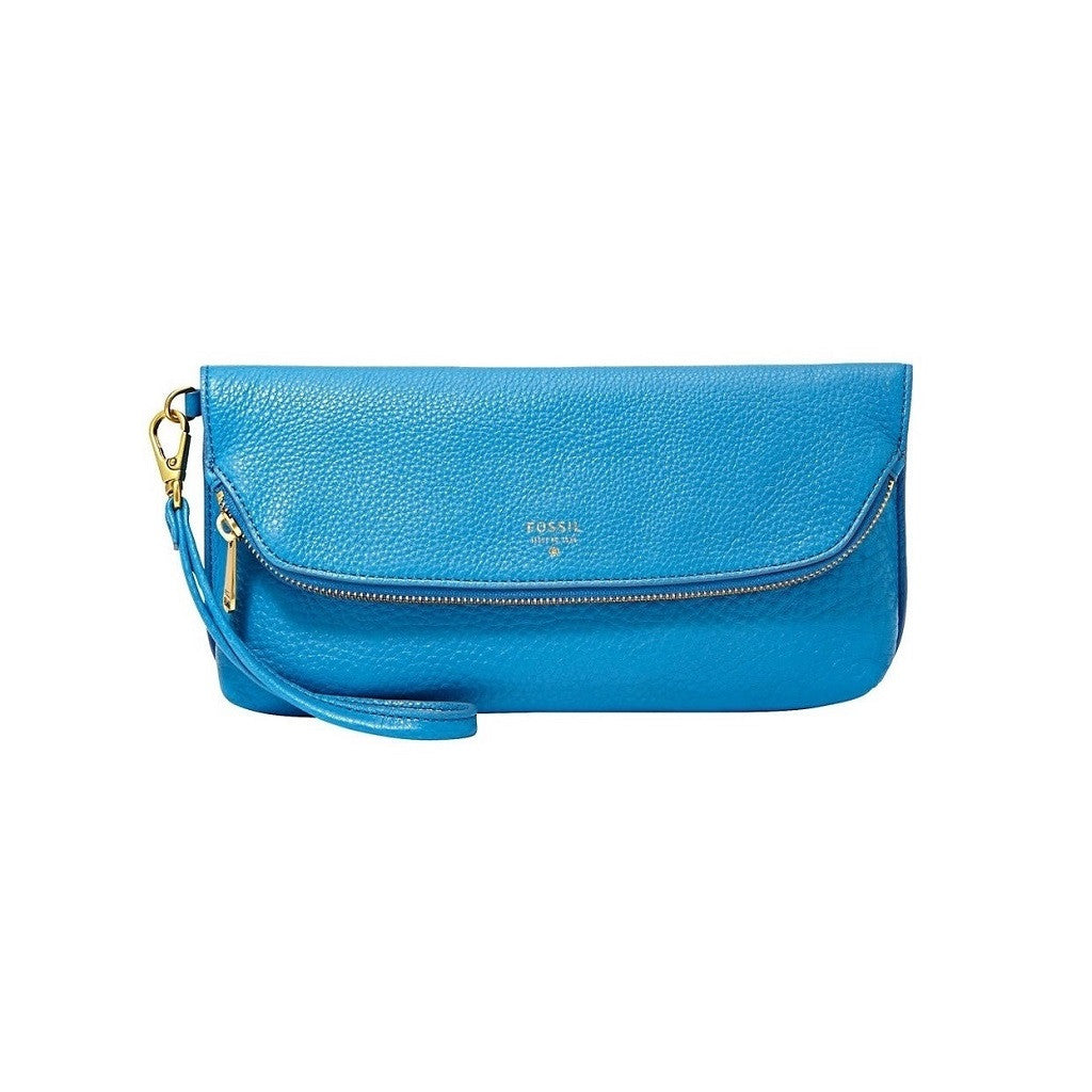 Fossil Preston Leather Clutch