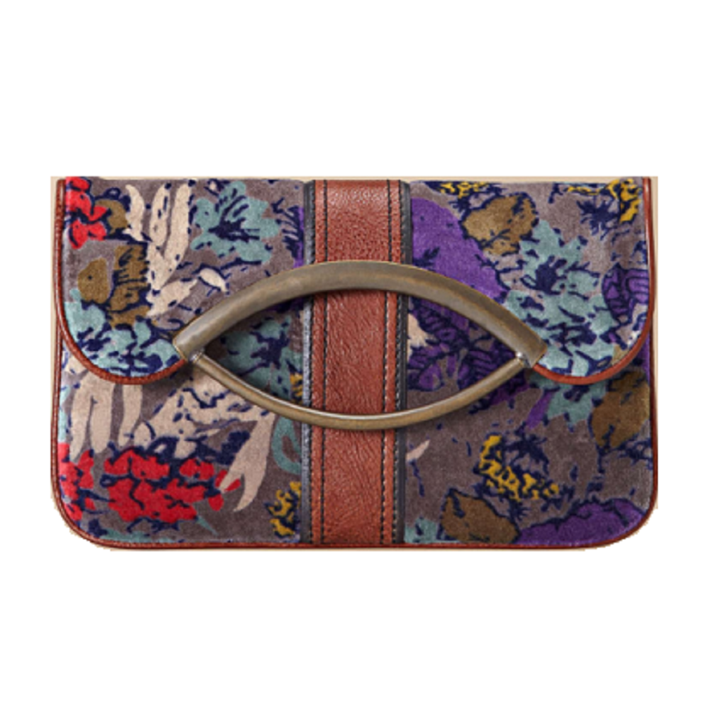 Fossil Vintage Re-Issue Foldover Clutch Folded Look