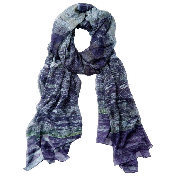 Front Row Society Purple Scarf