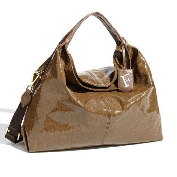 Furla 'Elisabeth' Shopper Patent Leather
