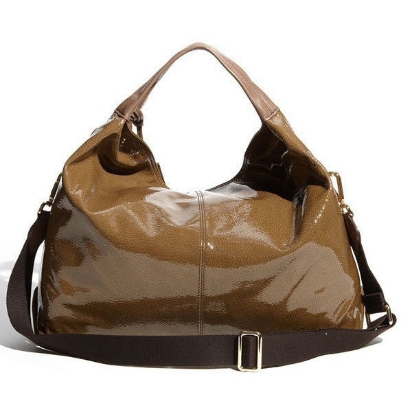 Furla 'Elisabeth' Shopper Patent Leather Rear