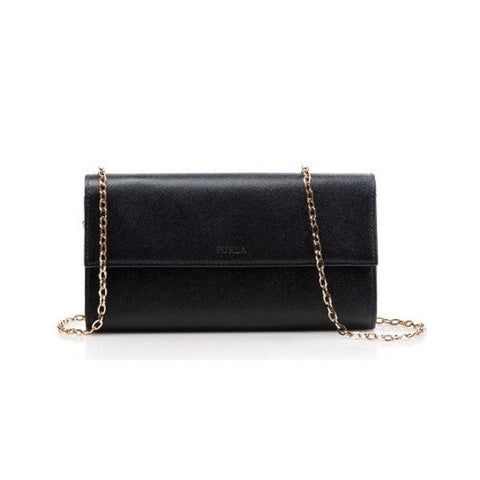 Furla Saffiano Leather Clutch