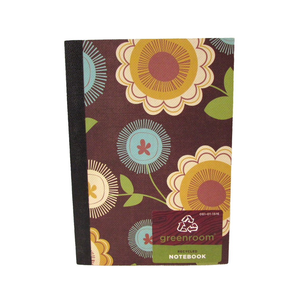 Greenroom Recycled Retro Notebook