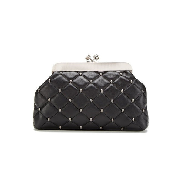 House Of Harlow 1960 Tilly Quilted Frame Clutch