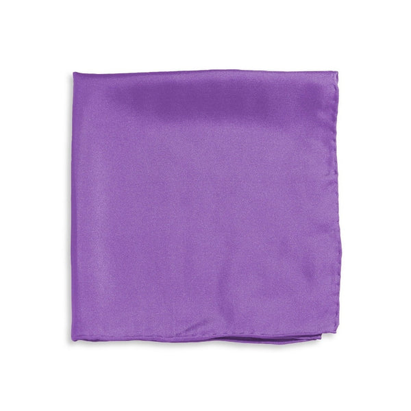IMPUNTURA Silk Pocket Square - Lavender