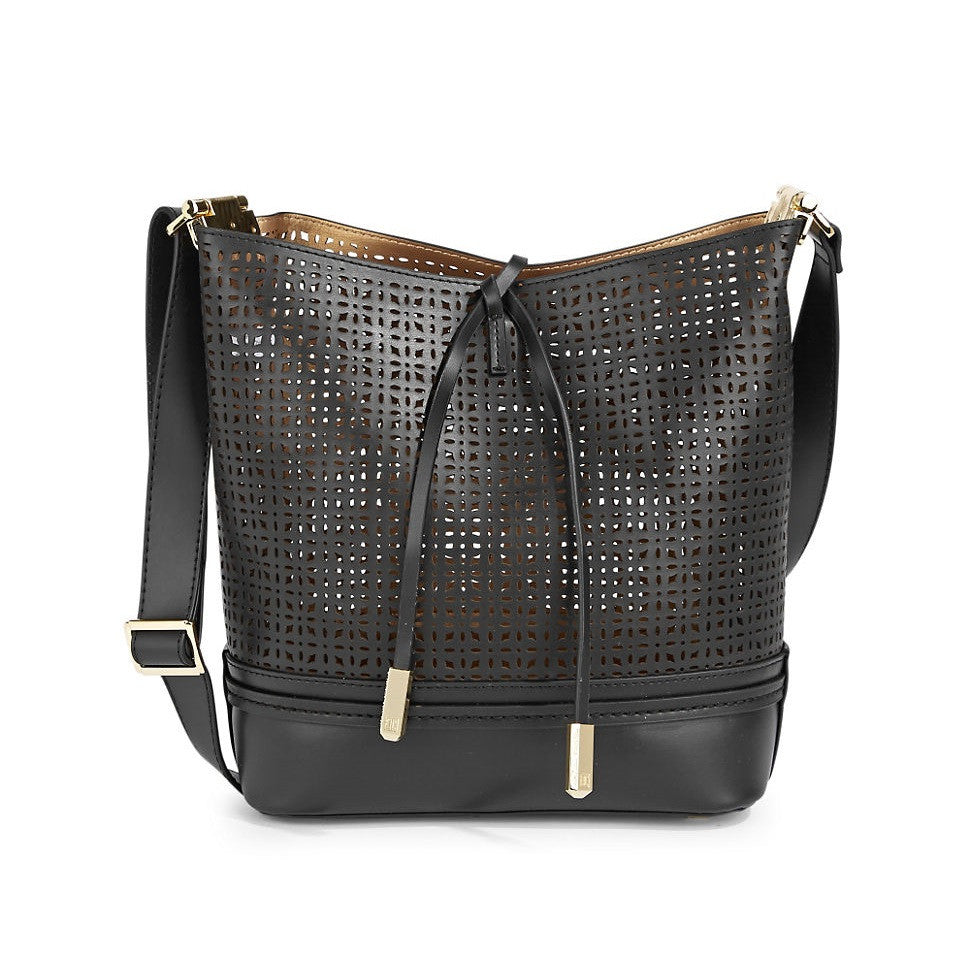 IVANKA-TRUMP-Leather-Perforated-Construction-Bucket-Bag-Front