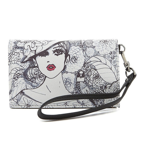 Izak Bird Girl Tech Wallet