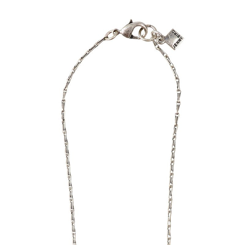 Sterling Silver Plated Barley Chain with signature logo