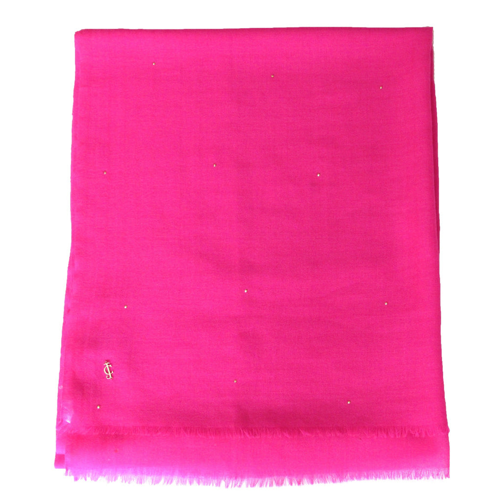 Juicy Couture Hot Pink Sequin Wrap Showing Folded