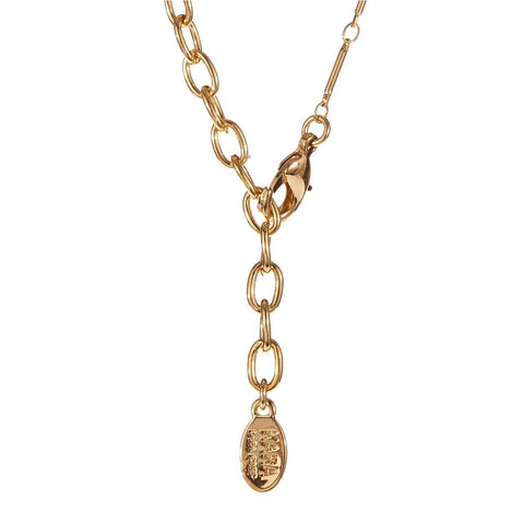 Kara Ross Gold Plated Cut out Necklace