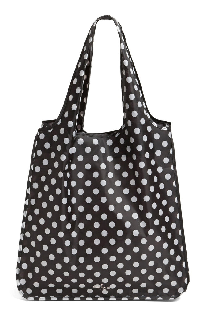 Kate Spade Dots Shopping Tote-open