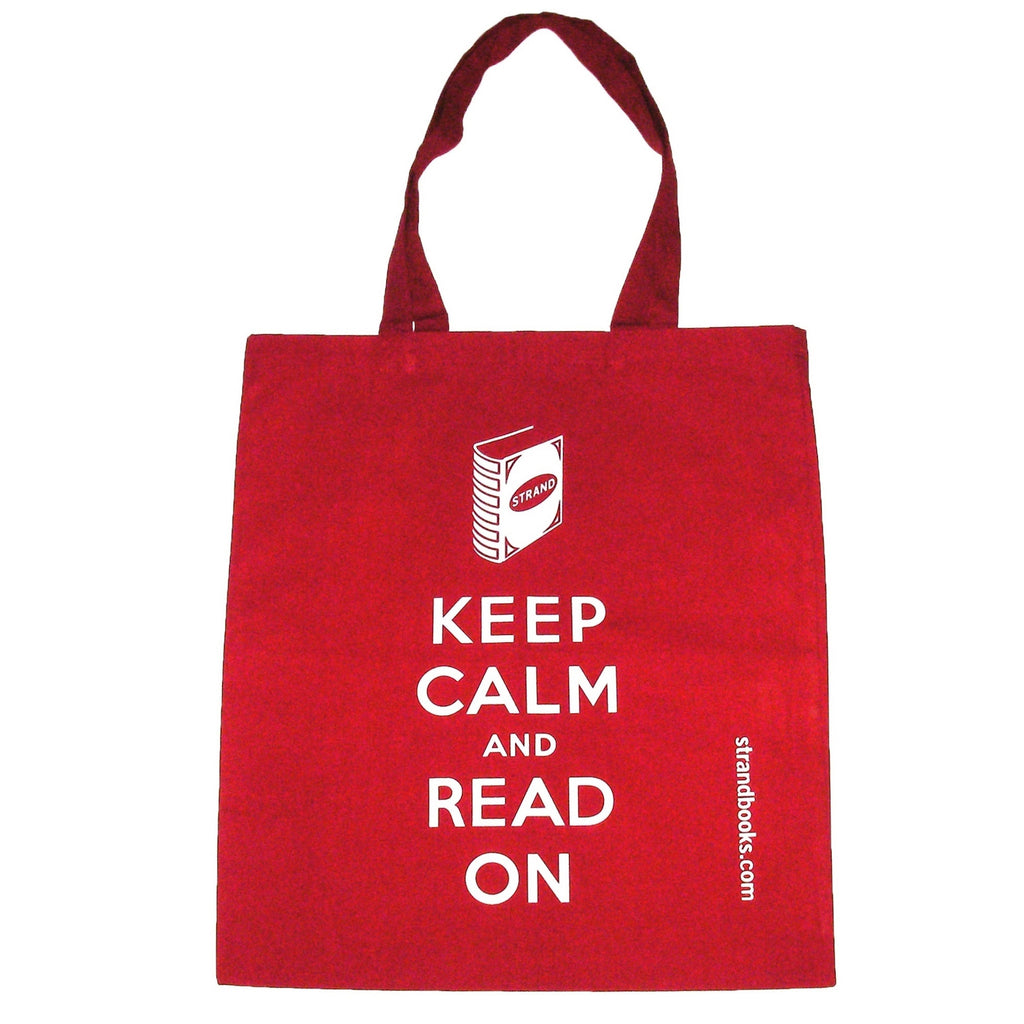 Studio Strand Keep Calm Red Tote Bag