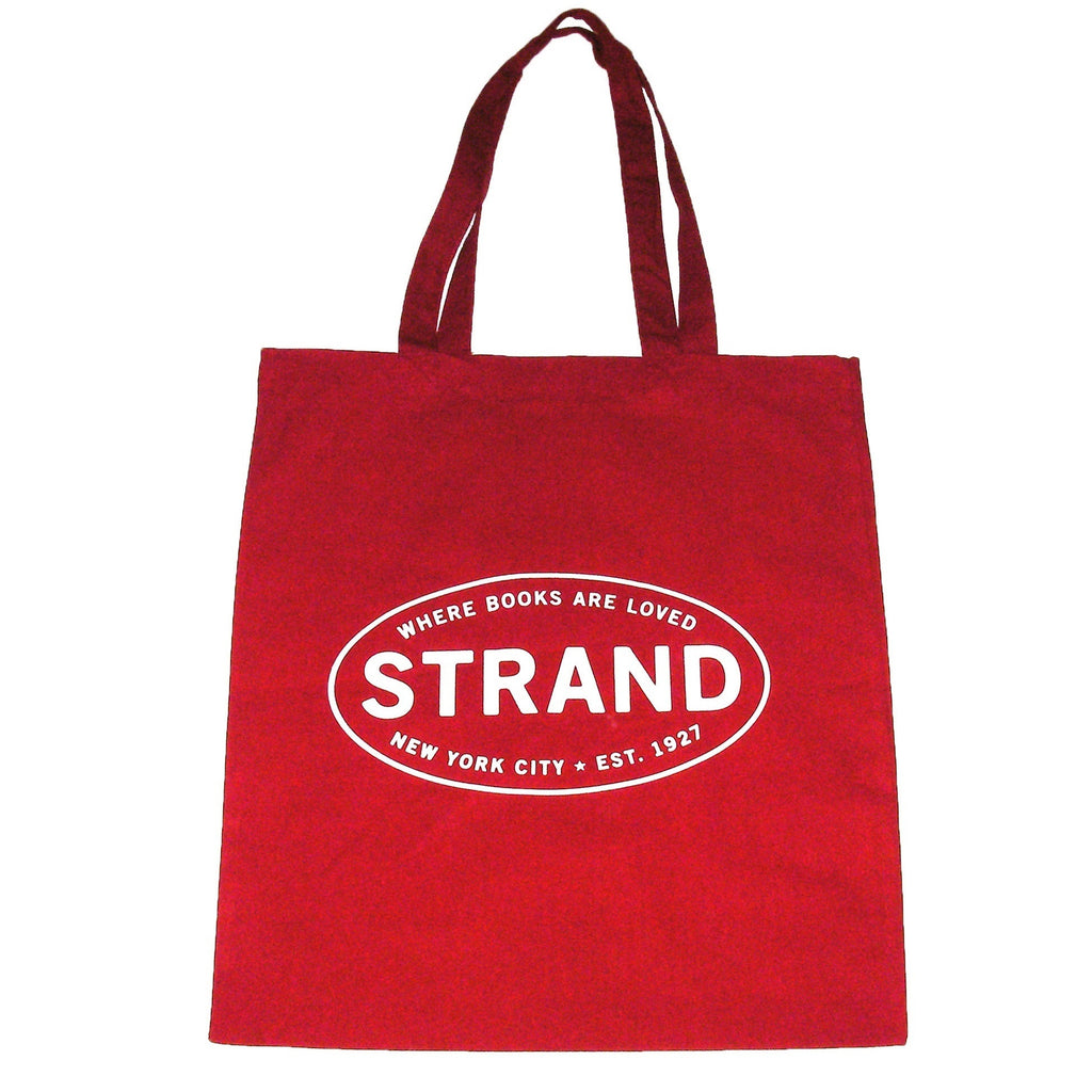 Studio Strand Keep Calm Red Tote Bag Reverse Side