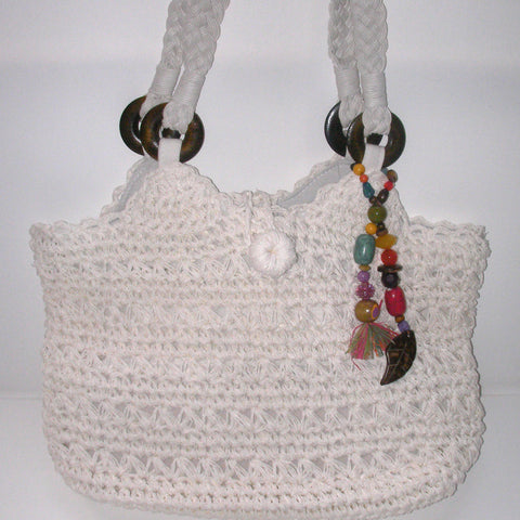 Kelly & Katie Beaded Tote Bag