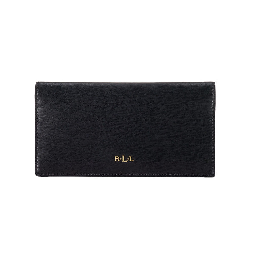 LAUREN- RALPH- LAUREN- Leather- Slim -Wallet