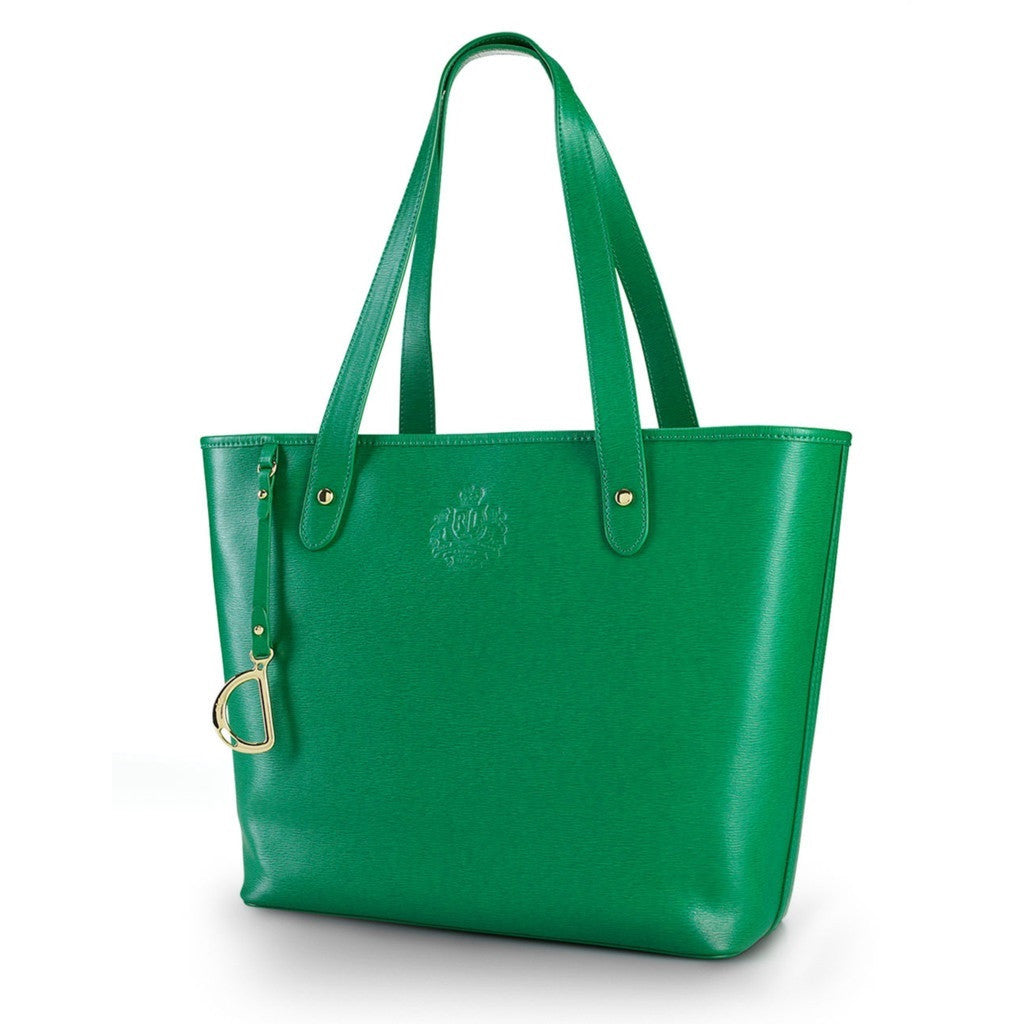 Lauren by Ralph Lauren Newbury Leather Tote