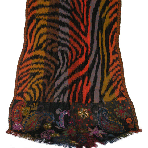 Limited Edition Bold Animal Print Wrap 'Caprice'