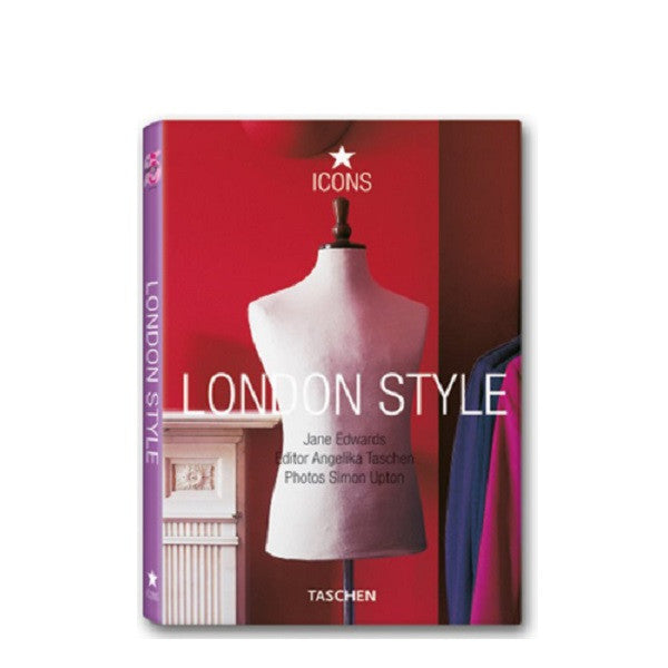 Taschen Icon Series London Style Shows Whole Book