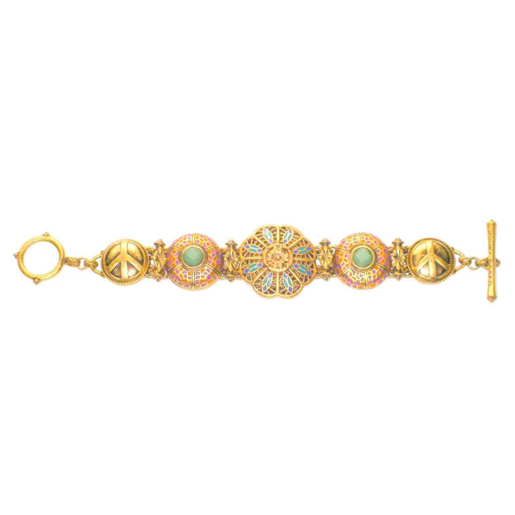Lucky Brand Mosaic Bracelet Unclasped Straight