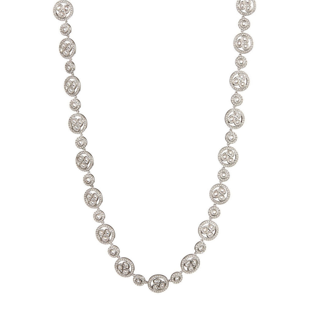 NADRI Cubic Zirconia All Around Bezel Necklace