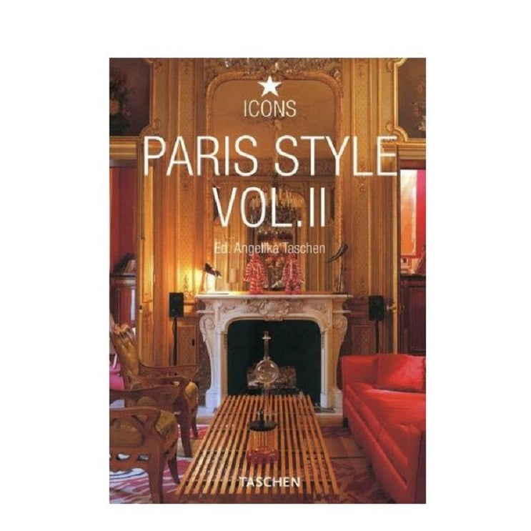 Paris Style Vol.II Taschen Icon Series