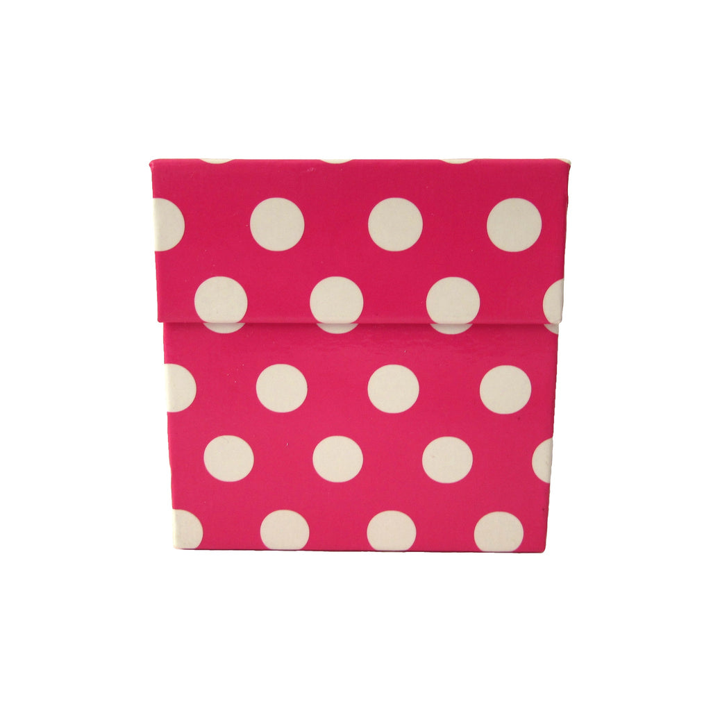 Pink Polka Dots Mobile Sticky Notes