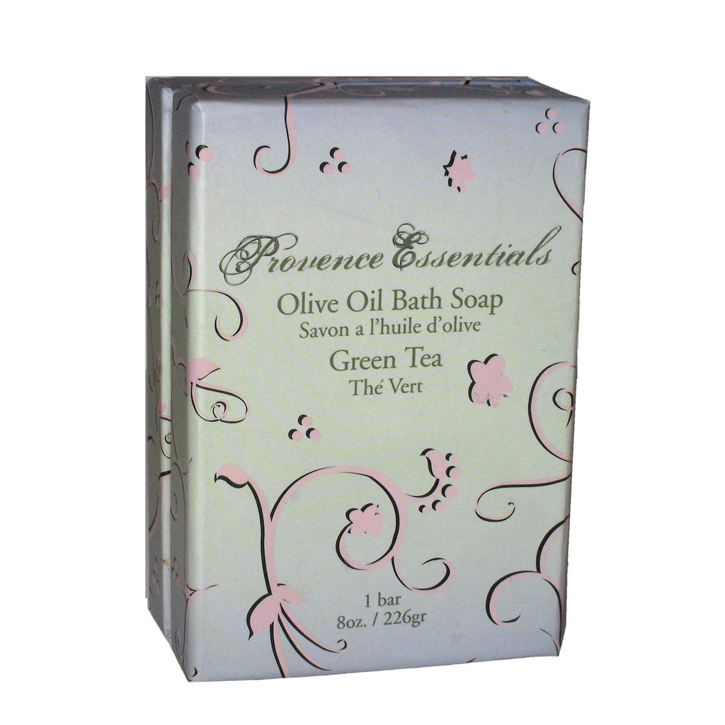Scented Green Tea Olive Oil Bath Soap By Provence Essentials