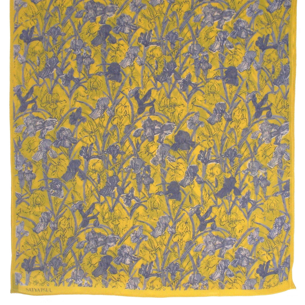 Satya Paul Printed Scarf open squared to show print