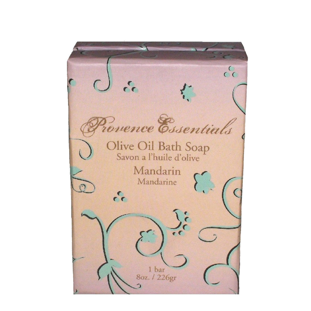 Scented Mandarin Olive Oil Soap By Provence Essentials