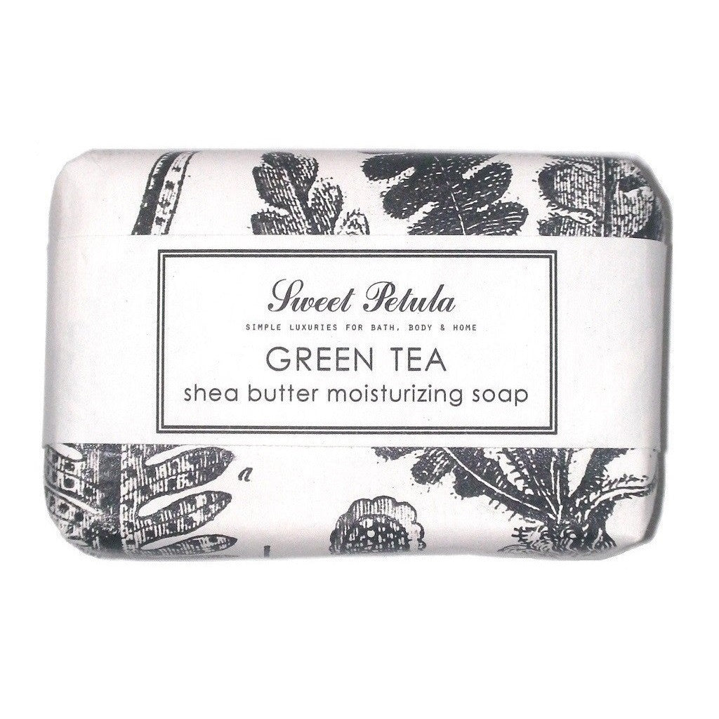 Scented Sweet Petula Green Tea Shea Butter Soap