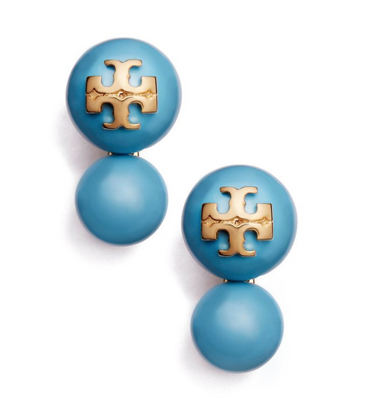 Tory Burch Evie Double Drop Earring