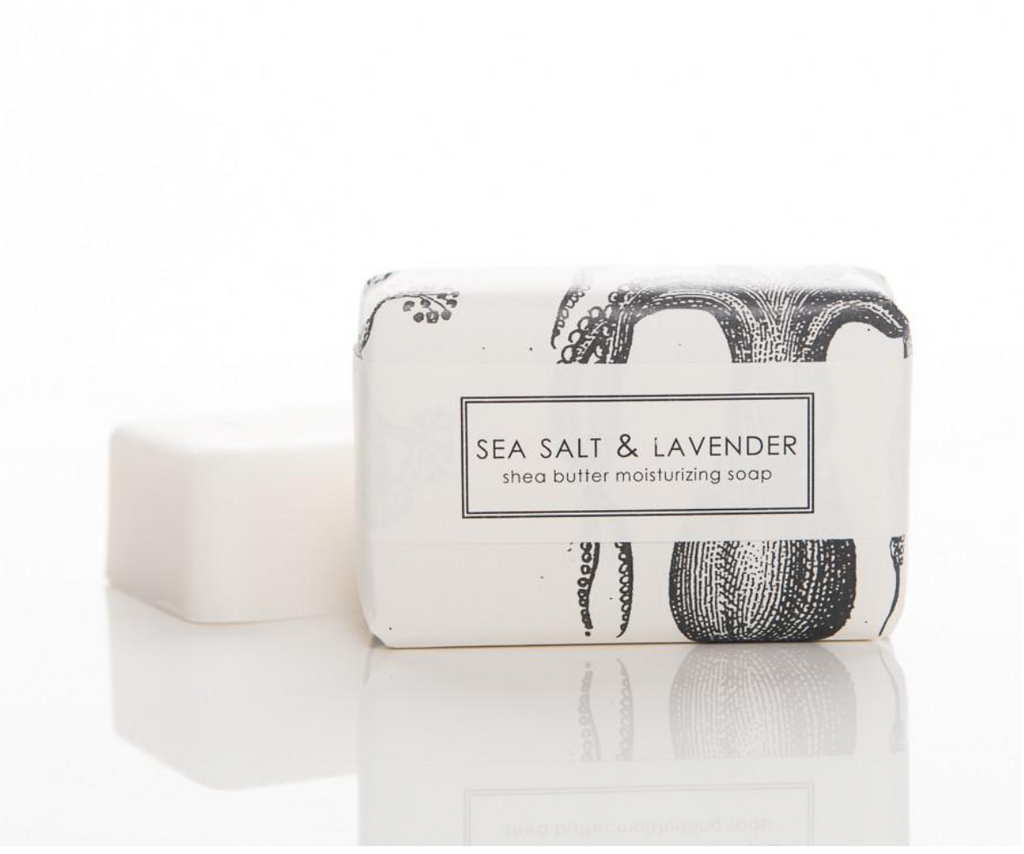 Sweet Petula Sea Salt and Lavender Soap