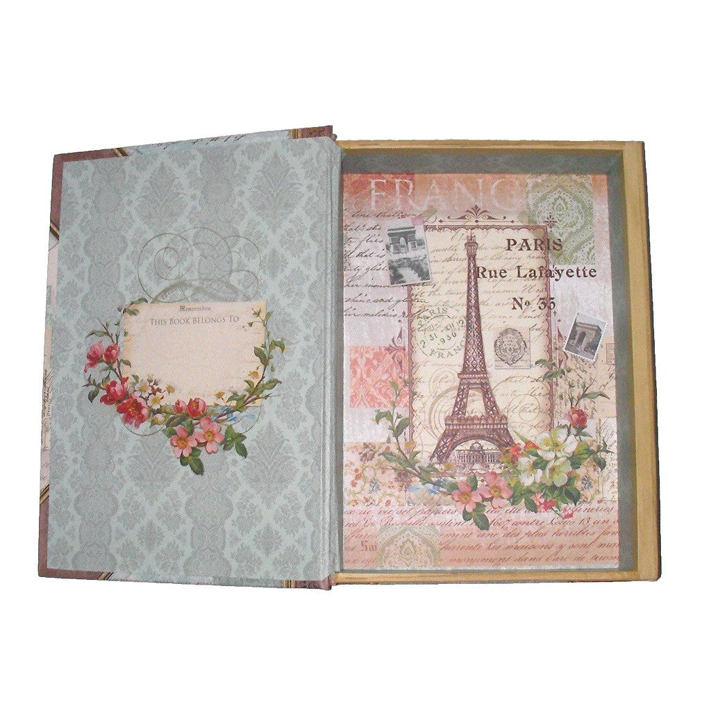 Studio Punch Adventures Du Paris France Book Box Open to show Inside