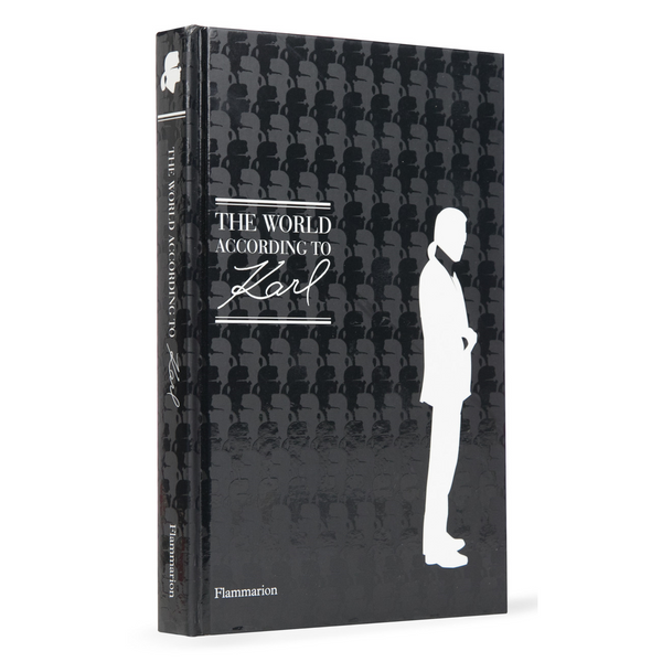 The World According To Karl - Flammarion Hard Cover Book With Image of Karl Lagerfeld