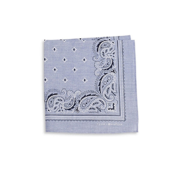 Tommy Hilfiger Paisley Silk Pocket Square