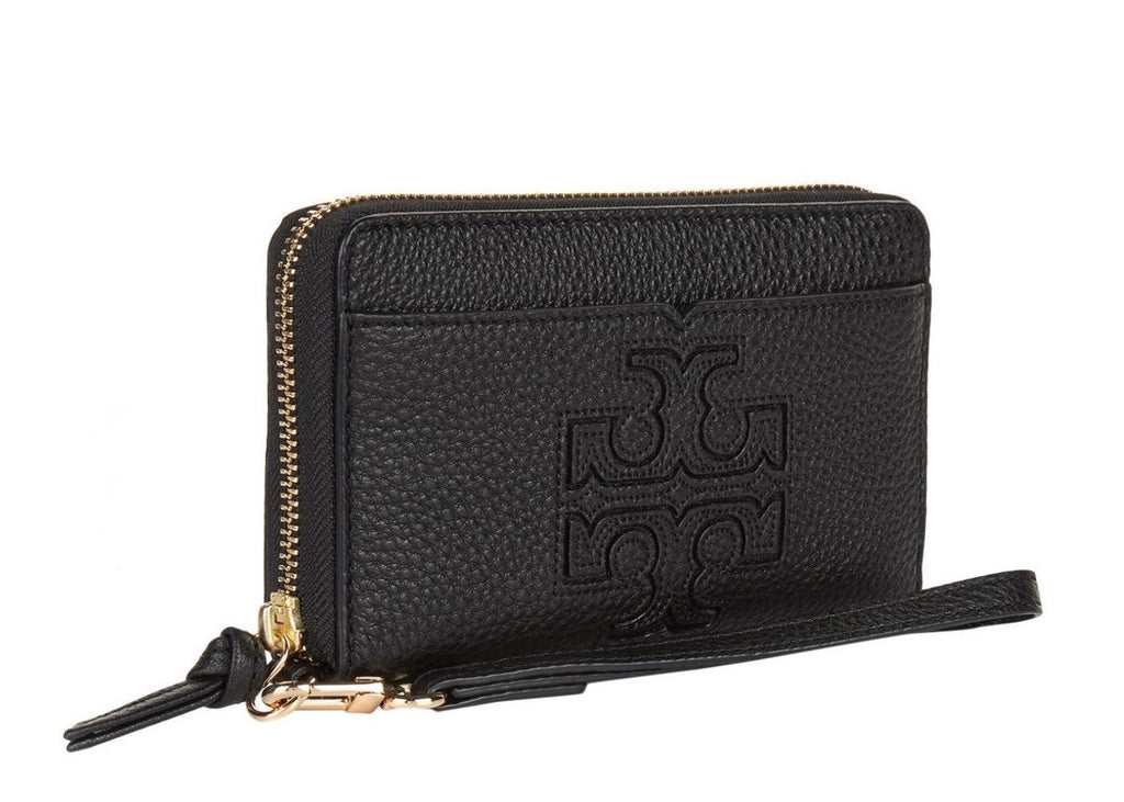 Tory Burch Harper Wristlet side view