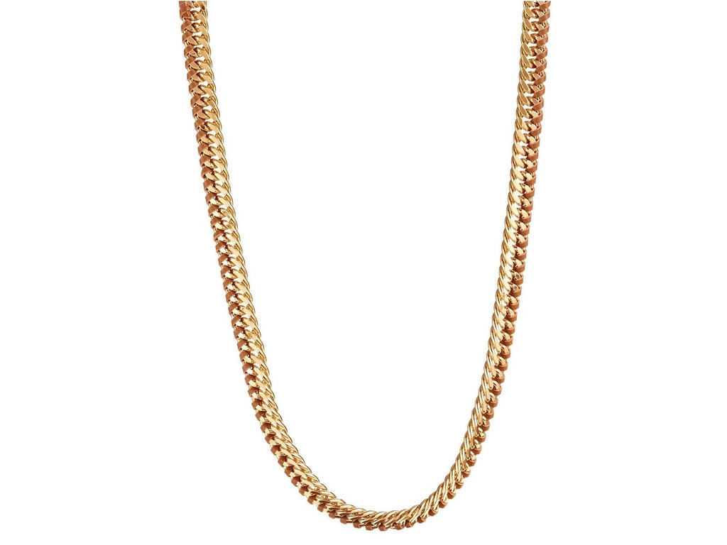 Trina Turk Leather Chain Necklace
