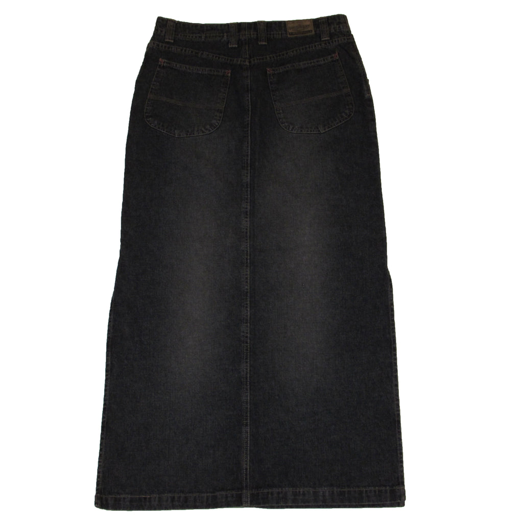 Unionbay Denim Skirt Reverse Side